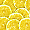 Background with lemon slices   Stock Foto