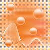 Vector clipart: Abstract elegance background with balls