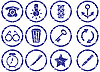 Vector clipart: Gadget icons set