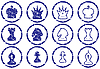 ID 3063519 | Chess icons set | Stock Vector Graphics | CLIPARTO