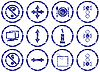 Gadget icons set | Stock Vector Graphics