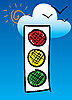 Vector clipart: Trafficlights