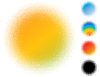 Spotted gradient flash