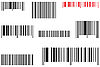 Vector clipart: barcodes