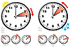 Vector clipart: Daylight Saving Time