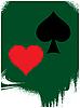 赌博 | 向量插图