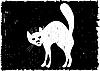Very malicious cat