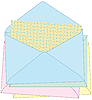 Vector clipart: envelopes