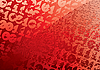 Vector clipart: Abstract red digital background