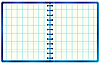 Vector clipart: Blue notebook