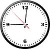 Vector clipart: Office clock