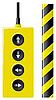 Векторный клипарт: Лифт пульт дистанционного управления и защиты ленты