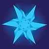 Vector clipart: Asymmetrical geometrical pattern