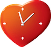 Vector clipart: Time of the Valentine`s day
