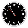 Vector clipart: Office clock