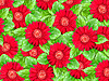 ID 3144380 | Background of red flowers and green leaves | High resolution stock photo | CLIPARTO