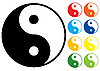 Vector clipart: Yin and Yang symbol