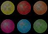 Векторный клипарт: шар из точек