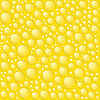 Vector clipart: Bubbles on yellow background