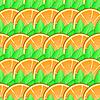 Векторный клипарт: Фон с цитрусовыми плодами апельсиновые дольки