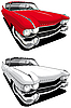 Vector clipart: American car