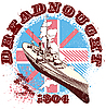Vector clipart: Dreadnought 1904