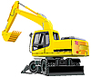 Excavator | Stock Vector Graphics