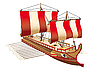 Vector clipart: Greek war ship