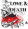 Vector clipart: Love and Death