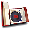 Vector clipart: Old record player