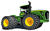 Vector clipart: green tractor