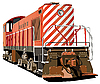 Vector clipart: hog train