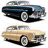 Vector clipart: old big car