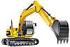 Crawler excavator | Stock Vector Graphics