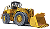Large wheel loader | Stock Vector Graphics