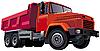 Red Dumper | Ilustración vectorial