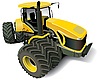 Yellow Modern Tractor | Stock Illustration