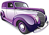 Vector clipart: Hot Rod Coupe