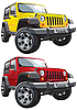 Vector clipart: off-road jeep