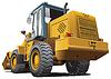 Vector clipart: loader back