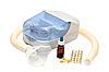 Ultrasonic nebulizer and medicines | Stock Foto