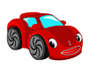 Vector clipart: Red car