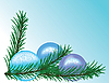 Vector clipart: Christmas background