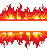 Vector clipart: burning fire