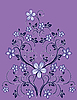 Vector clipart: Floral decor