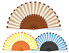 Vector clipart: handmade fan