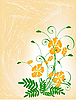ID 3014267 | Bukiet z kwiatów pomarańczy. | Klipart wektorowy | KLIPARTO