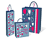 Vector clipart: Gifts bag set