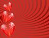 Heart Burst Background