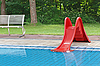 Photo 300 DPI: children's pool with slide
